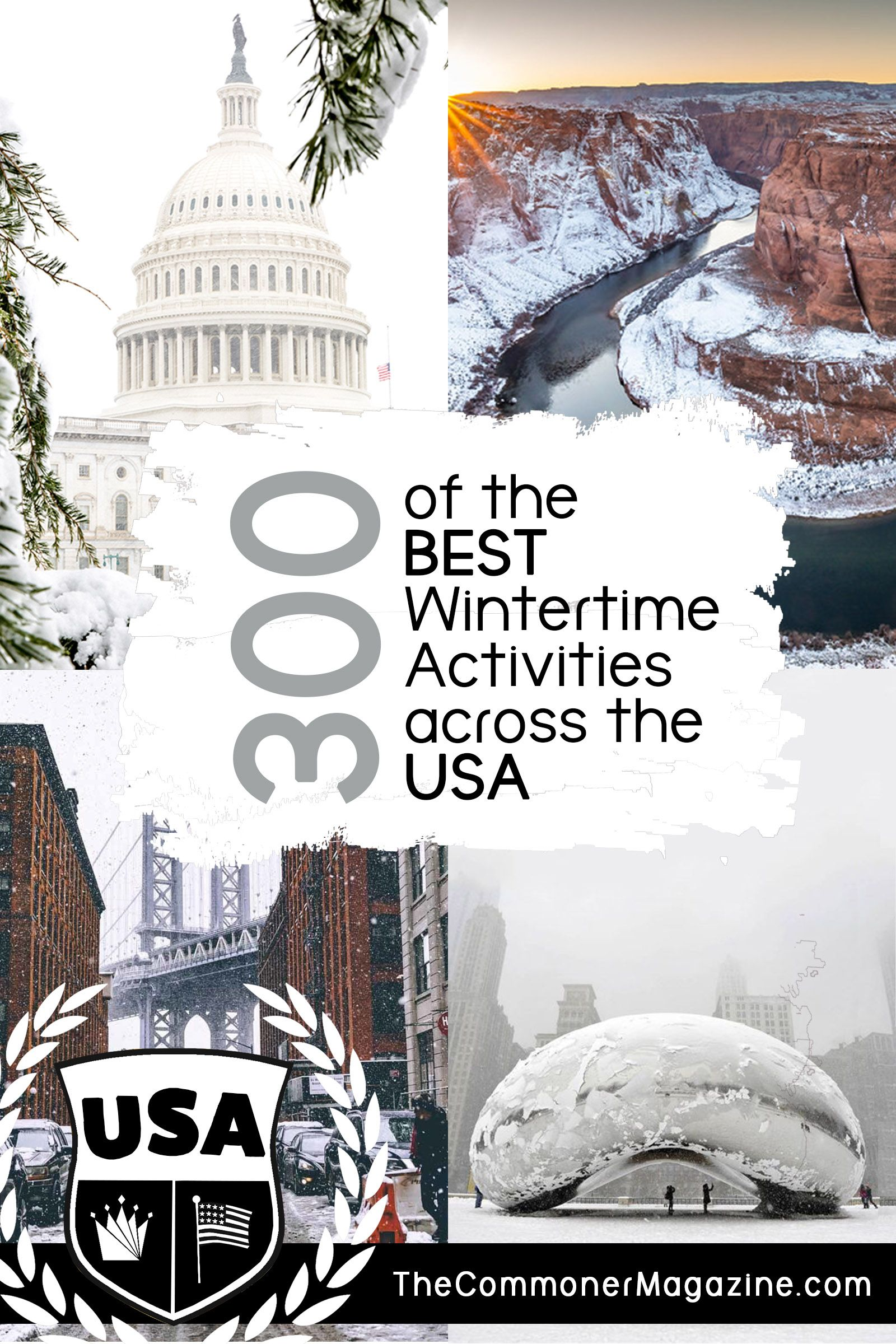 The Best Winter Activities in the USA! -   19 holiday Destinations usa ideas