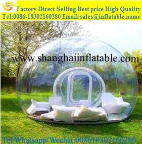Like and Share if you want this good selling bubble tent Outdoor Single Tunnel Inflatable Bubble : outdoor bubble tent - memphite.com