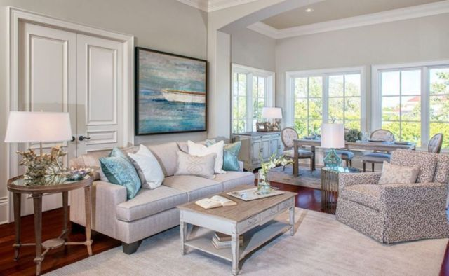 45 Fabulous Beach Themed Living Room For Guests Feel More Comfortable