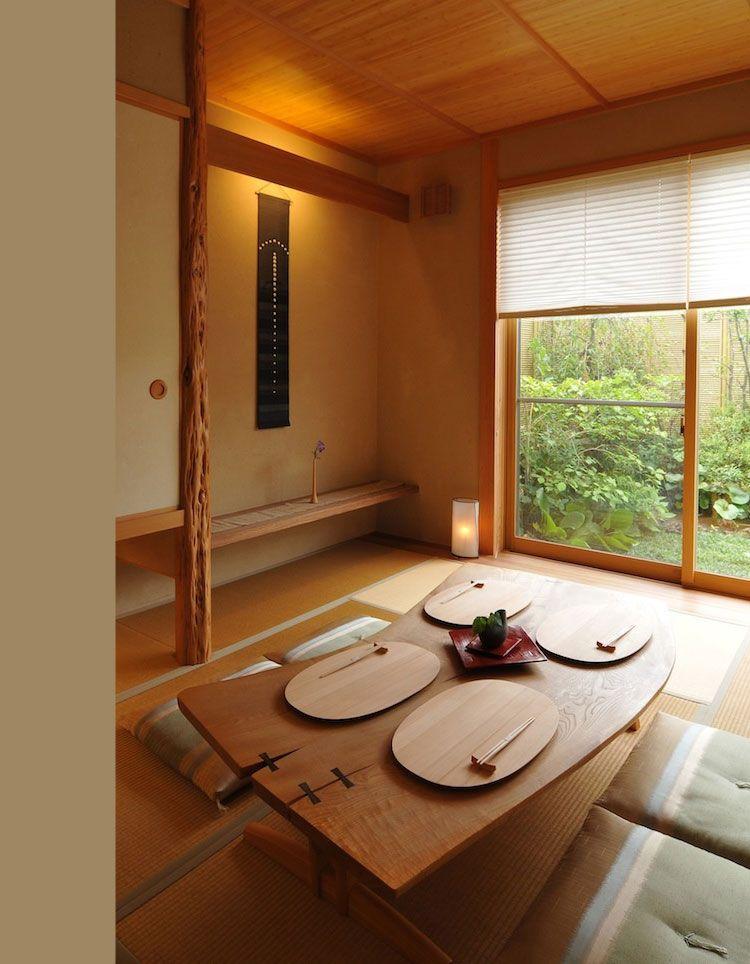 eetkamer-inrichten-japanse-stijl-warm | Japanese interiors ...