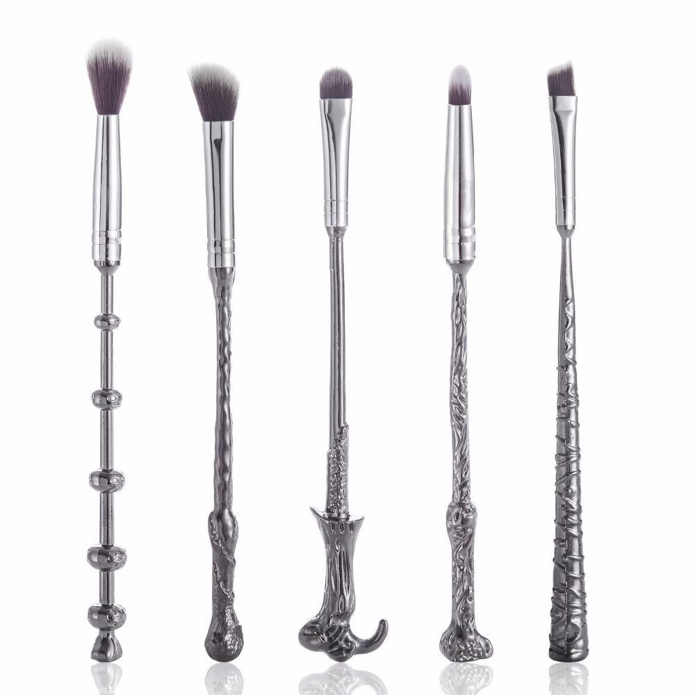 d555e44215e1 Harry Potter Wand Makeup Brushes Set //Price: $22.97 & FREE Shipping ...