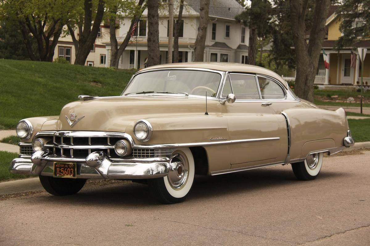 1951 Cadillac Coupe Deville Series 62 Cadillacs Lincolns And Fleetwood Sedan