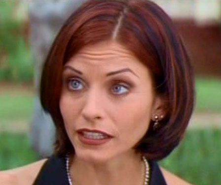Courtney Cox in Scream 2 | Celebrity Styles in 2019 | Hair color
