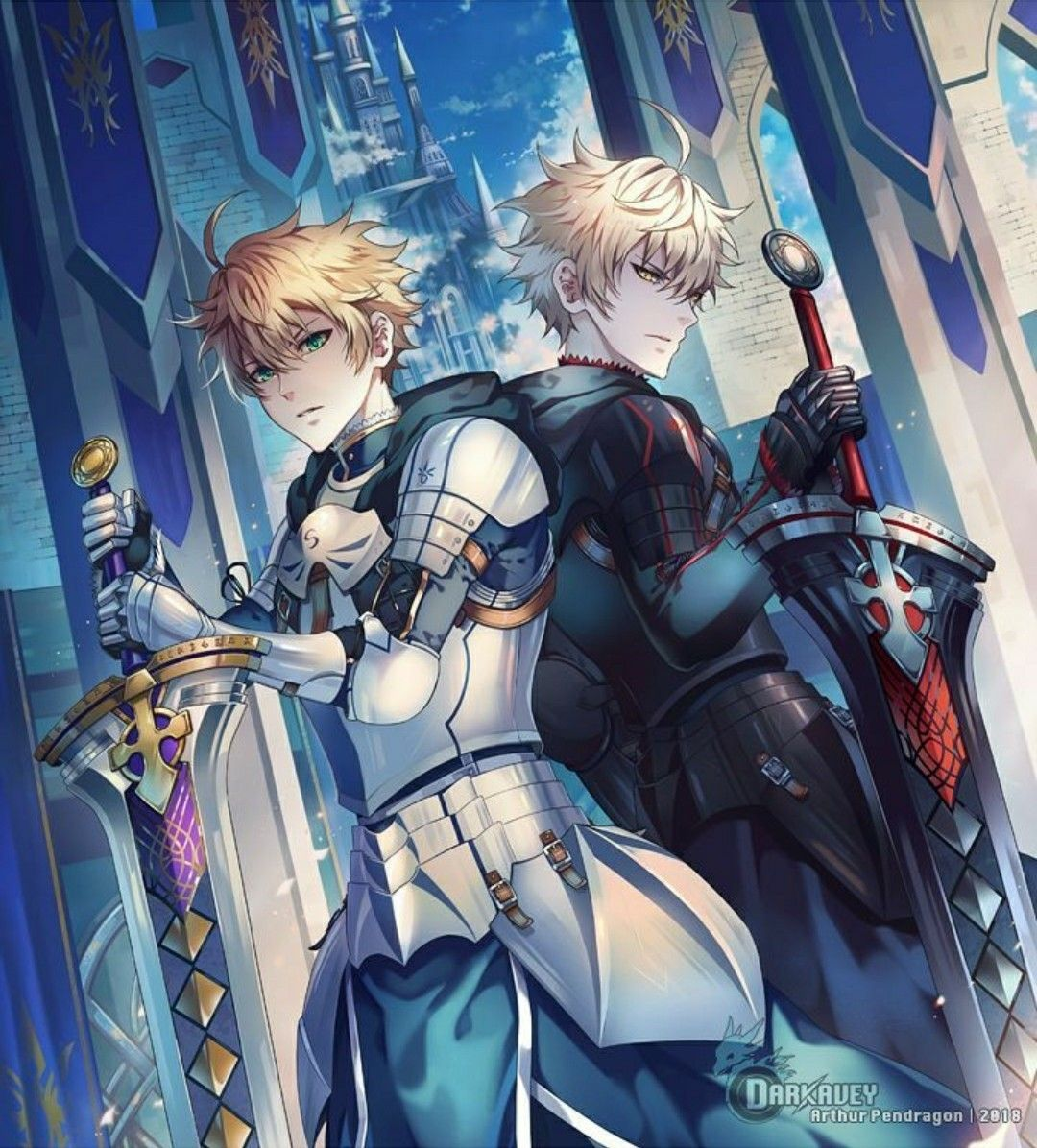 Arthur Pendragon Alter FATE (Series) Fate anime series