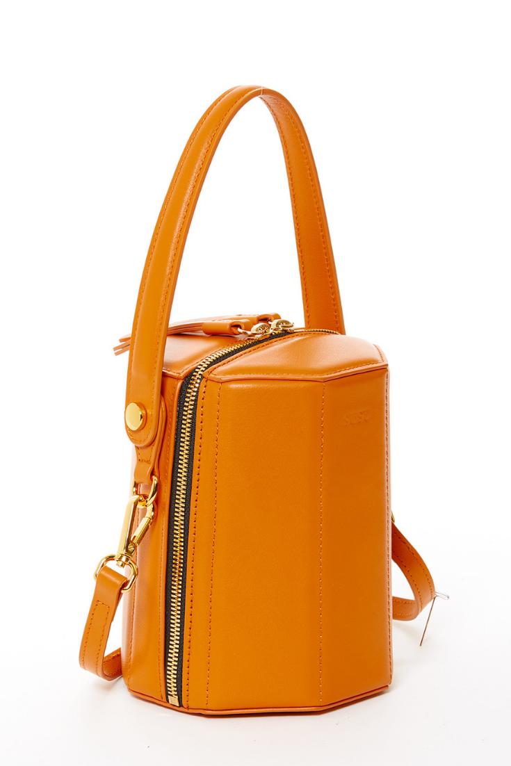 Pin On Yellow Crush Orange Handbags Leather