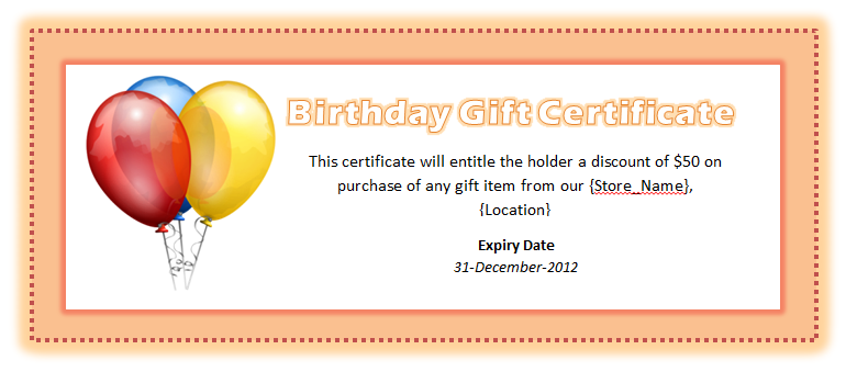 Free Birthday Gift Cards My Birthday Pinterest