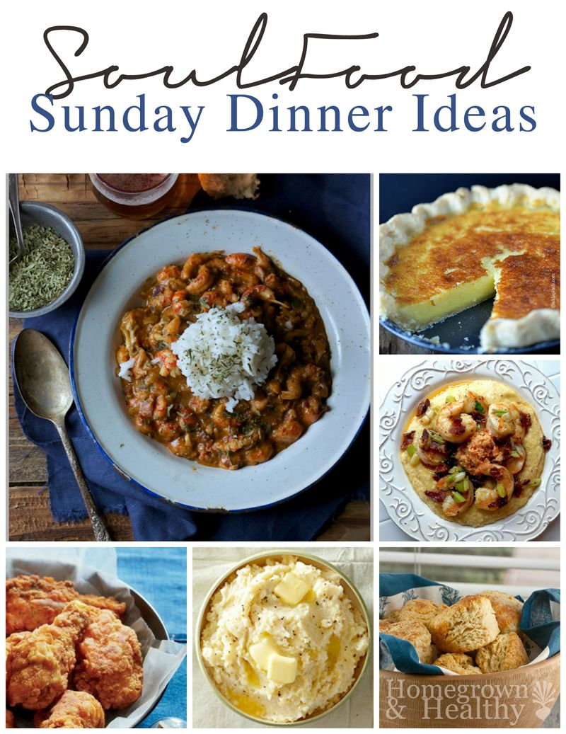 Soul food sunday dinner ideas sunday dinners soul food for Southern christmas dinner menu ideas