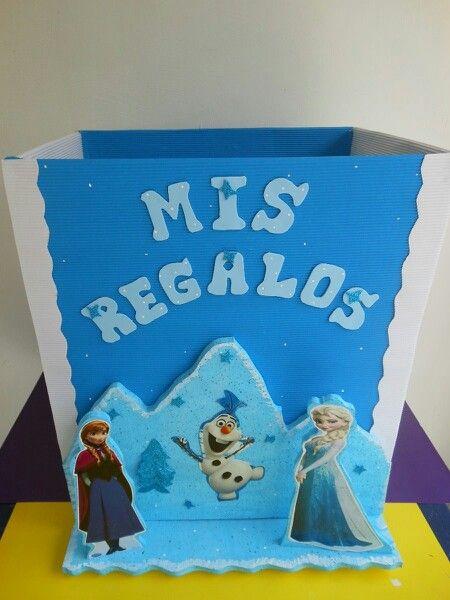 caja de regalos frozen