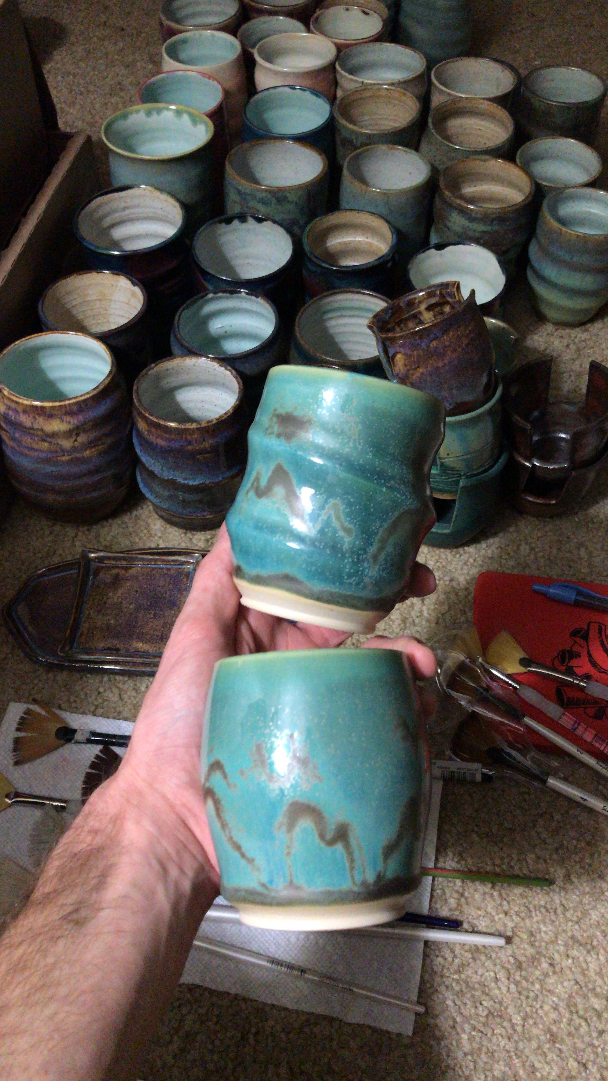 Pasceramics Coyote Glaze Pottery Glazes Glaze Pottery