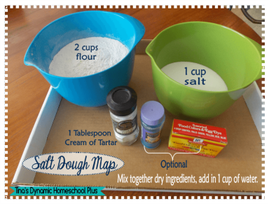 Marco Polo Unit Study - Salt Dough Map + Free Printable Map Flags ...