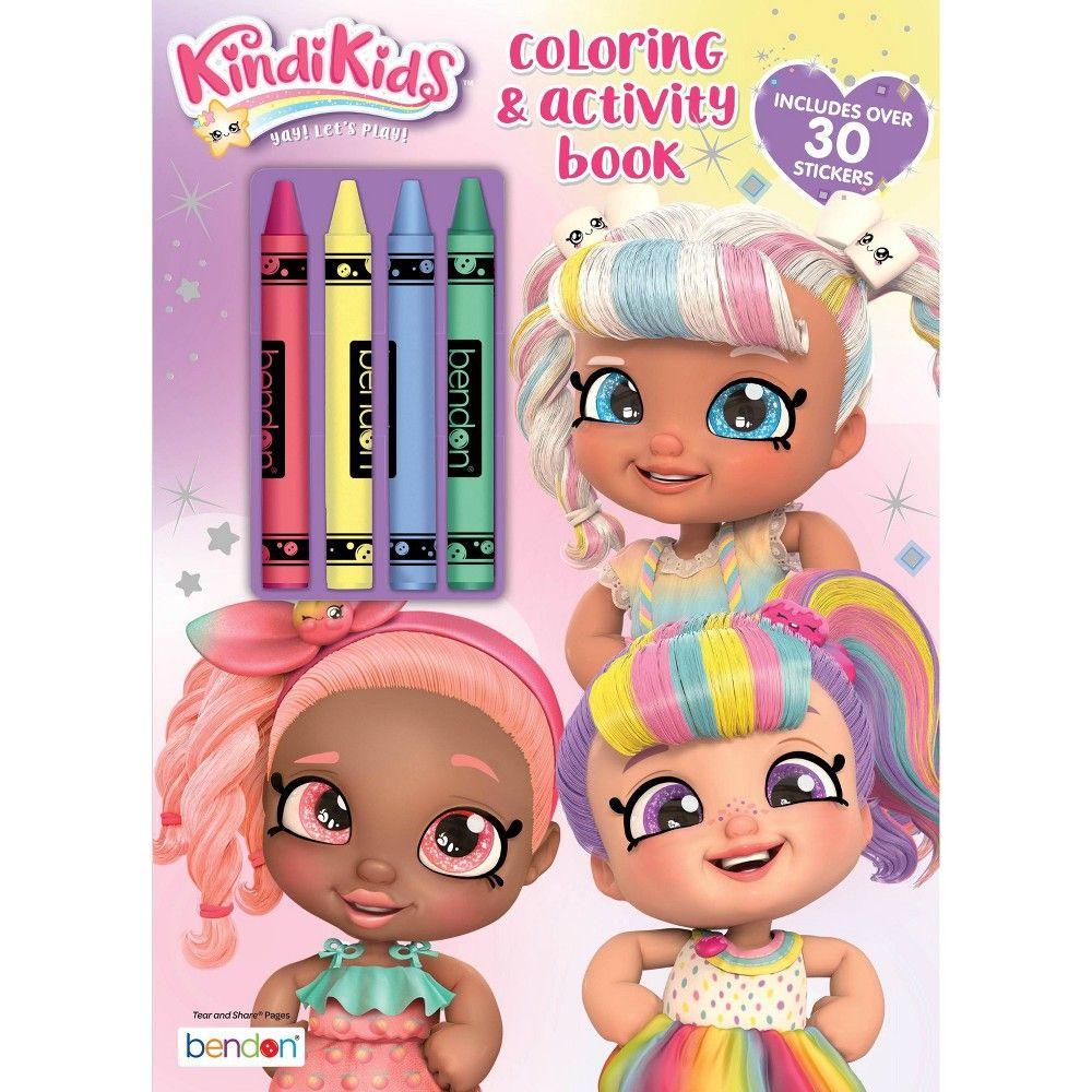 Kindi Kids Coloring Book With Crayons Target Exclusive Edition In 2021 Coloring Books Coloring For Kids Kids Coloring Books