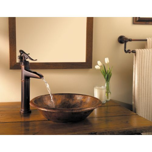 Pfister PF040YP0U Ashfield Vessel Filler Bathroom Faucet - Rustic ...