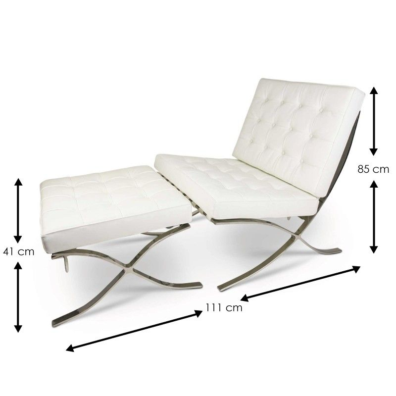 barcelona-chair-white-set-sa-dimensions.jpg (800×  sc 1 st  Pinterest & barcelona-chair-white-set-sa-dimensions.jpg (800×800) | Furniture ...