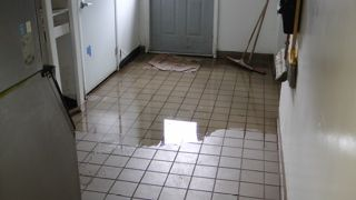 not too long ago, a pipe burst in the kitchen of my north miami
