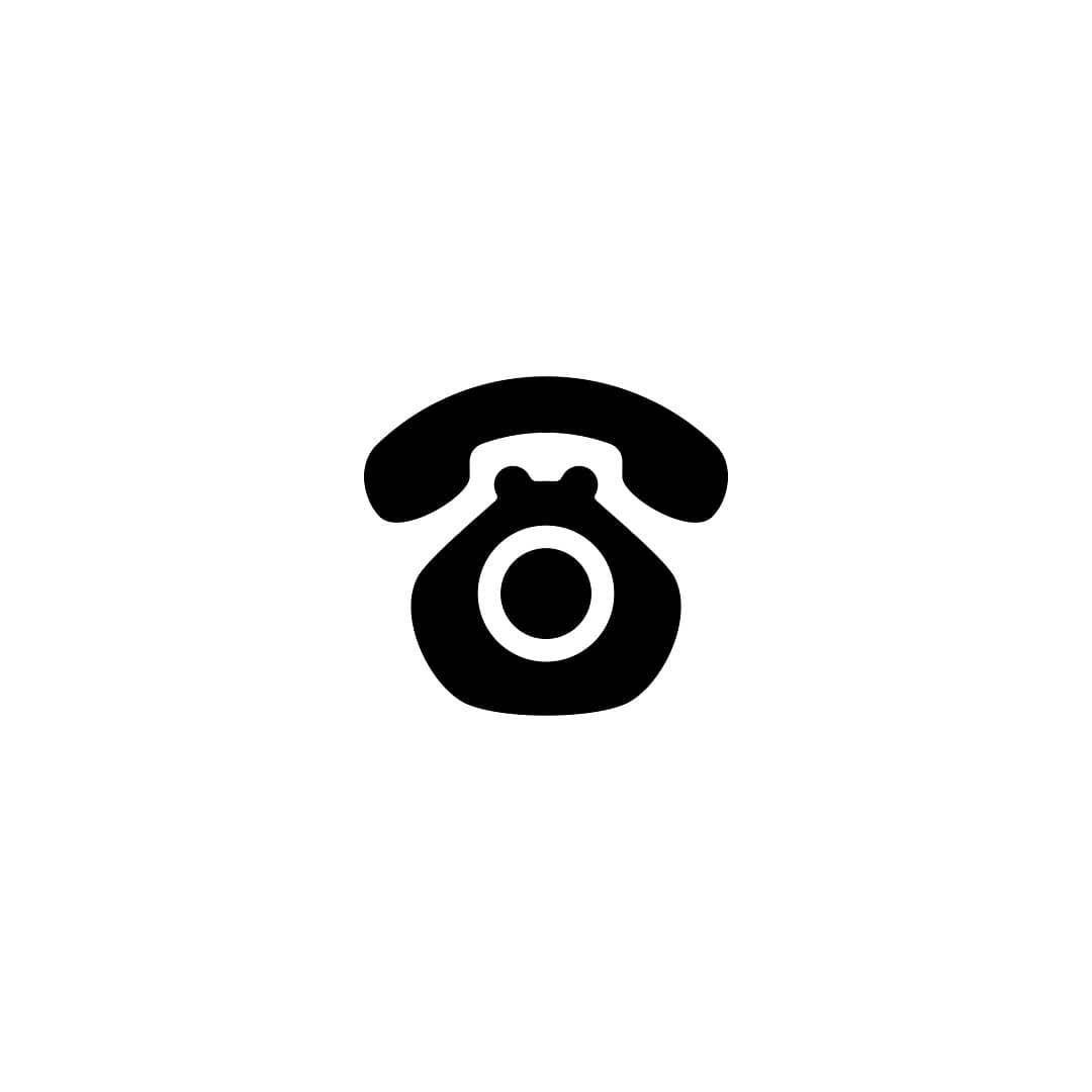 Dog telephone logo concept logos cv graphique symbole