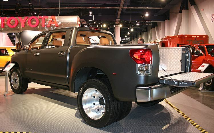Toyota Concept Truck Diesel >> 2008 Toyota Tundra Diesel Toyota Tundra Toyota 2008