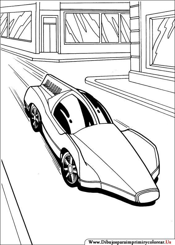 Dibujos De Hot Wheels Para Imprimir Y Colorear Cars Coloring Pages Race Car Coloring Pages Hot Wheels