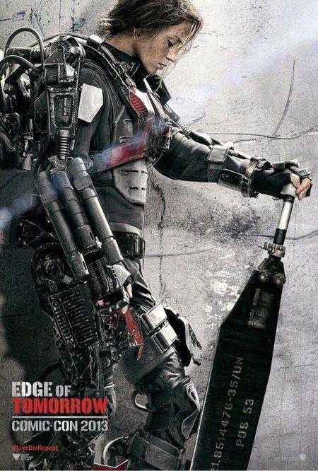 """Novos cartazes do filme """"Edge of Tomorrow"""" com Tom Cruise http://cinemabh.com/imagens/novos-cartazes-do-filme-edge-of-tomorrow-com-tom-cruise"""