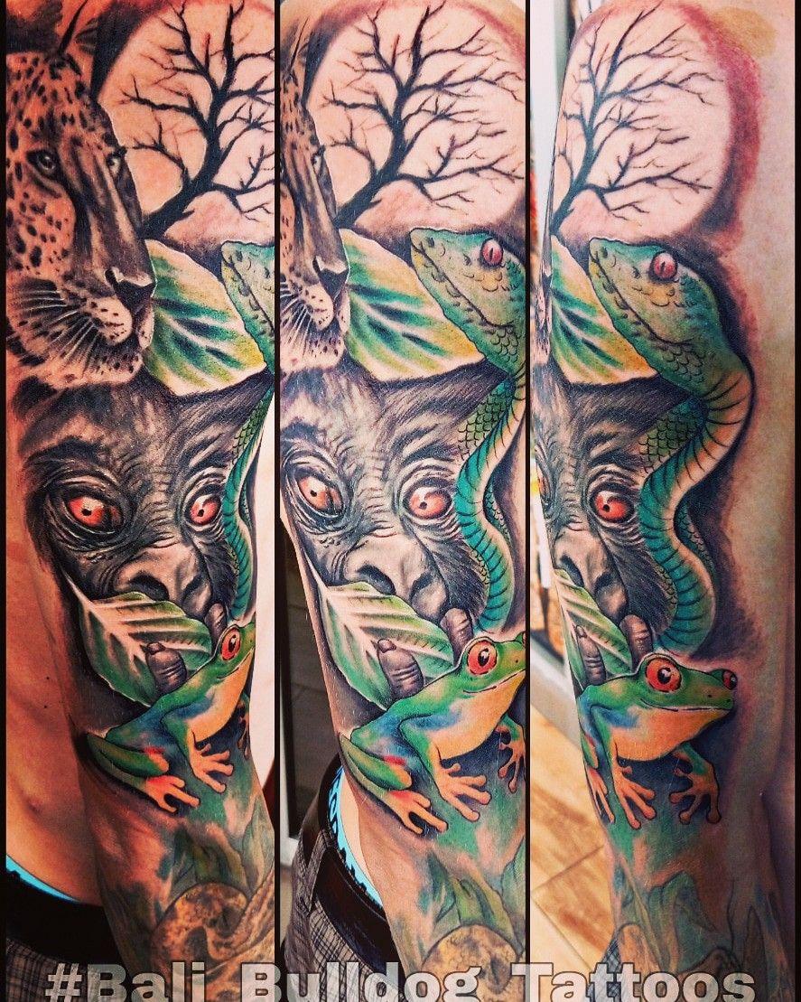 Pin oleh Dharma Jaya di Bali_Bulldog_Tattoos