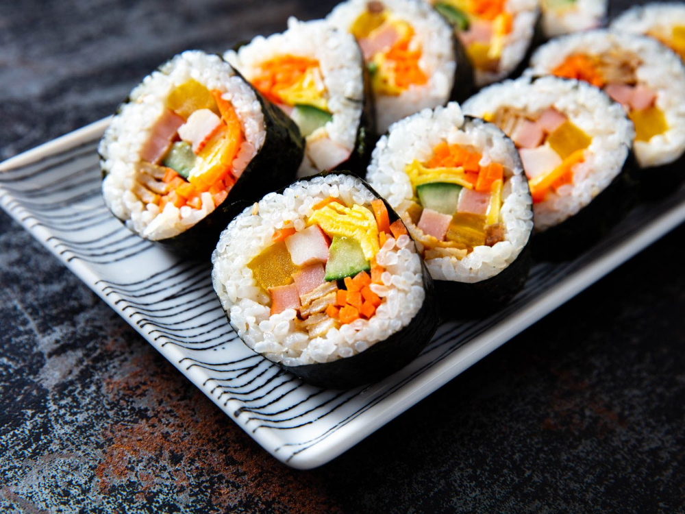 California Rolls Sushi Recipe Sushi Recipes Homemade Sushi Food