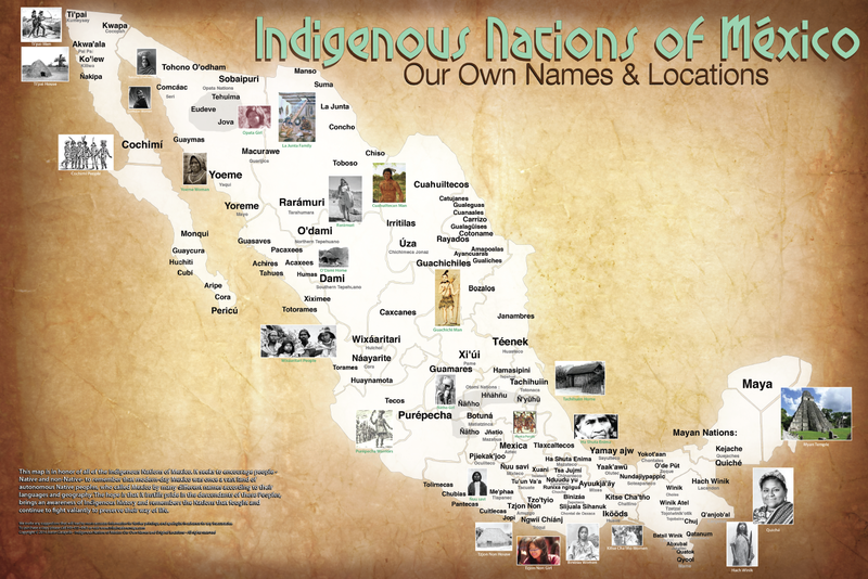 El Mapa de tribus nativas norteamericanas Nunca antes visto: Cambiar Código: NPR