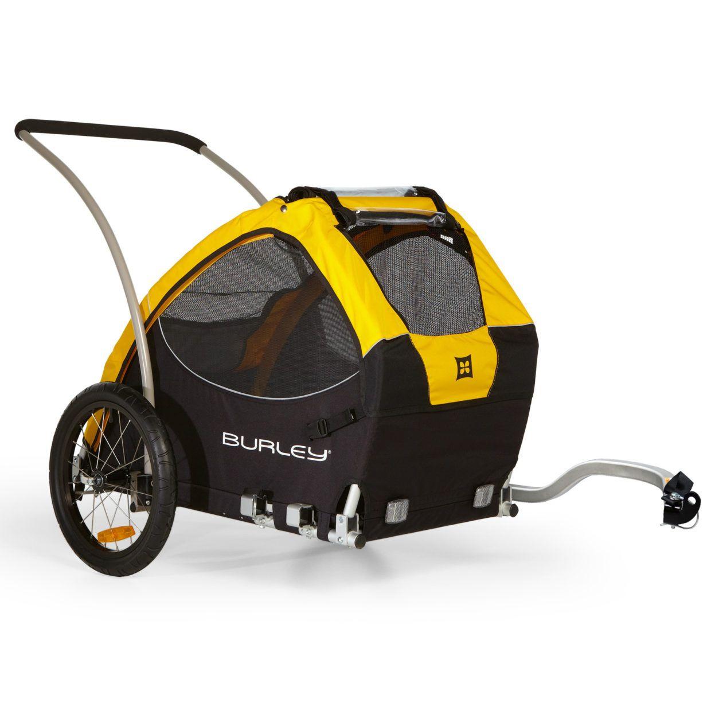 Tail Wagon Dog Bike Trailer 75 Pound Capacity Dog