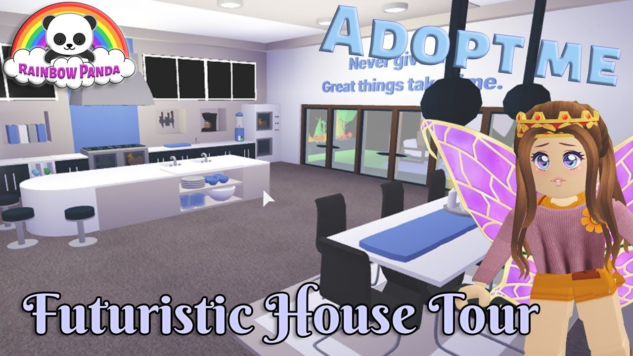 Adopt Me Aesthetic House Tour Futuristic House Youtube Futuristic Home Cute Room Ideas My Home Design