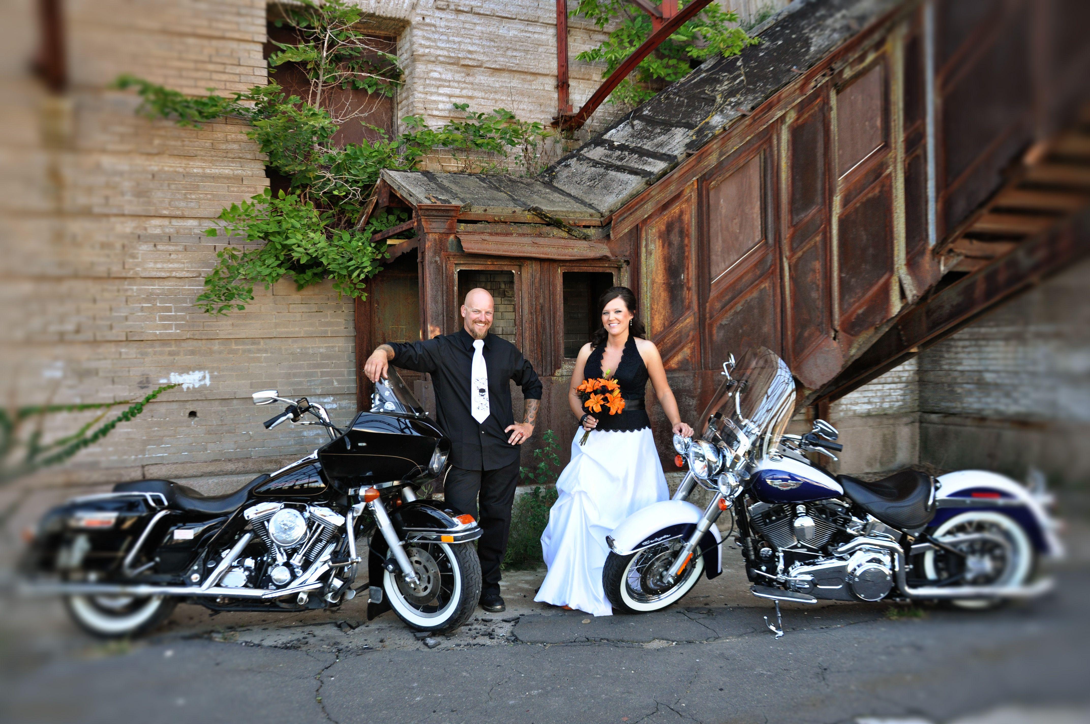 Our Harley Davidson Wedding Part 1 Harley Davidson Wedding Biker Wedding Motorcycle Wedding