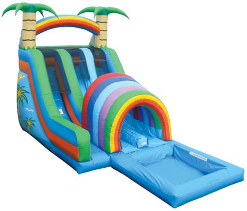 BIS-016-Big-Kid-Inflatable-Water-Slides-for-