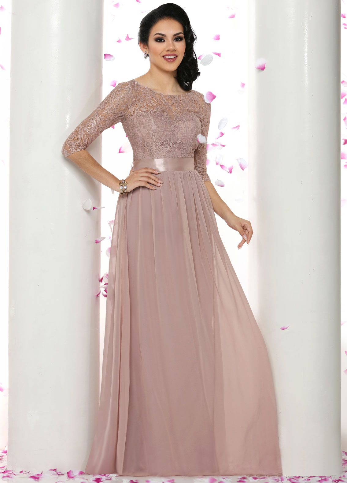Finding A Stunning Bridesmaid Look For Religious Or Conservative Wedding Can Long Dresses