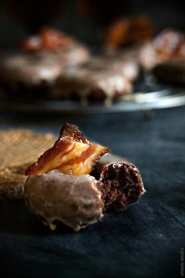 Maple Bourbon Bacon Chocolate Doughnuts Donuts Urban Bakes