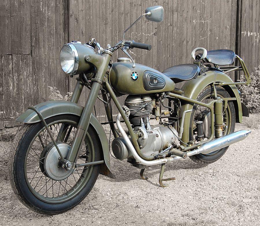 1954 Bmw R25 3 Army Duty Bmw Motorcycles Bmw Motorcycle Vintage