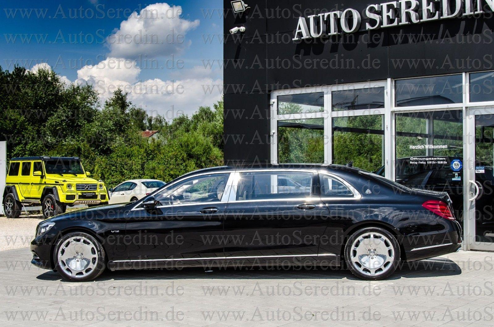 2018 Mercedes BenzMaybach S600 (W222) Stretch Limousine