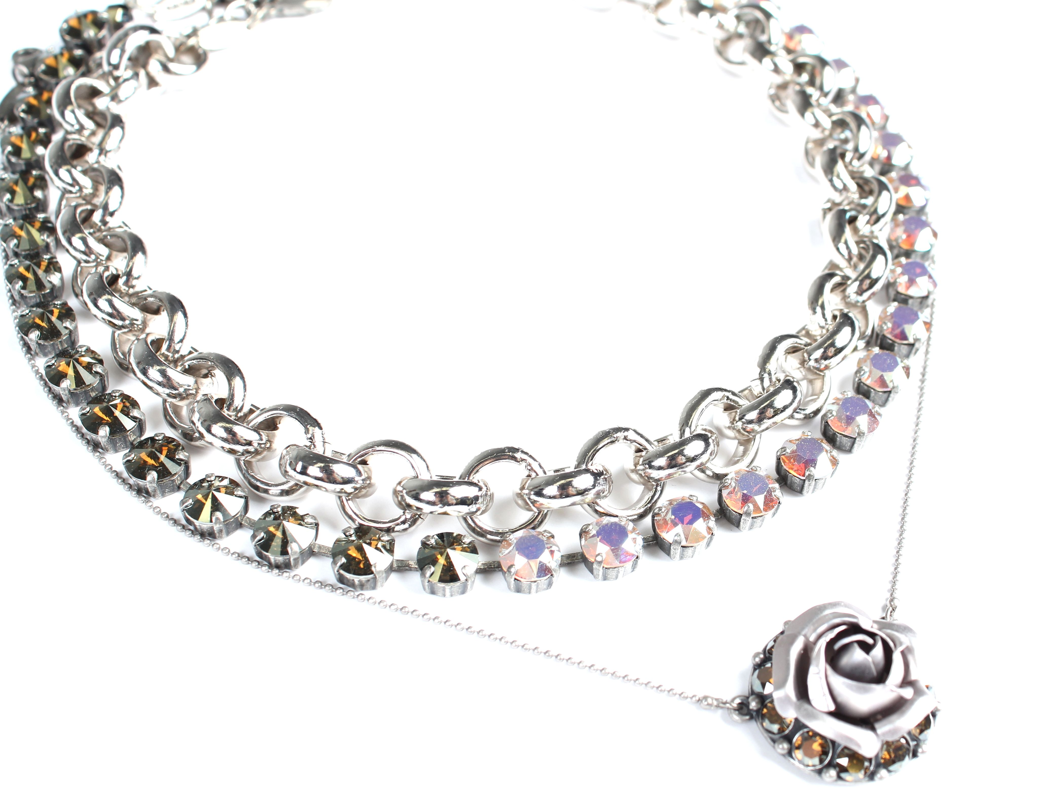 Sabika look necklace - Delicate Sophisticated Look Chic Cool Link Necklace Edition Rococo Sabika Fun Tm Choker