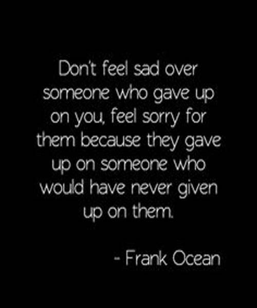 Feel Sorry For Them- Friendship Quotes