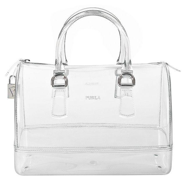 #transparent bag | #furla