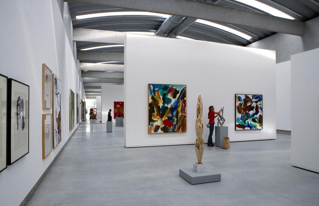 Best liaunig museum interior exhibition your home design for Museum designers