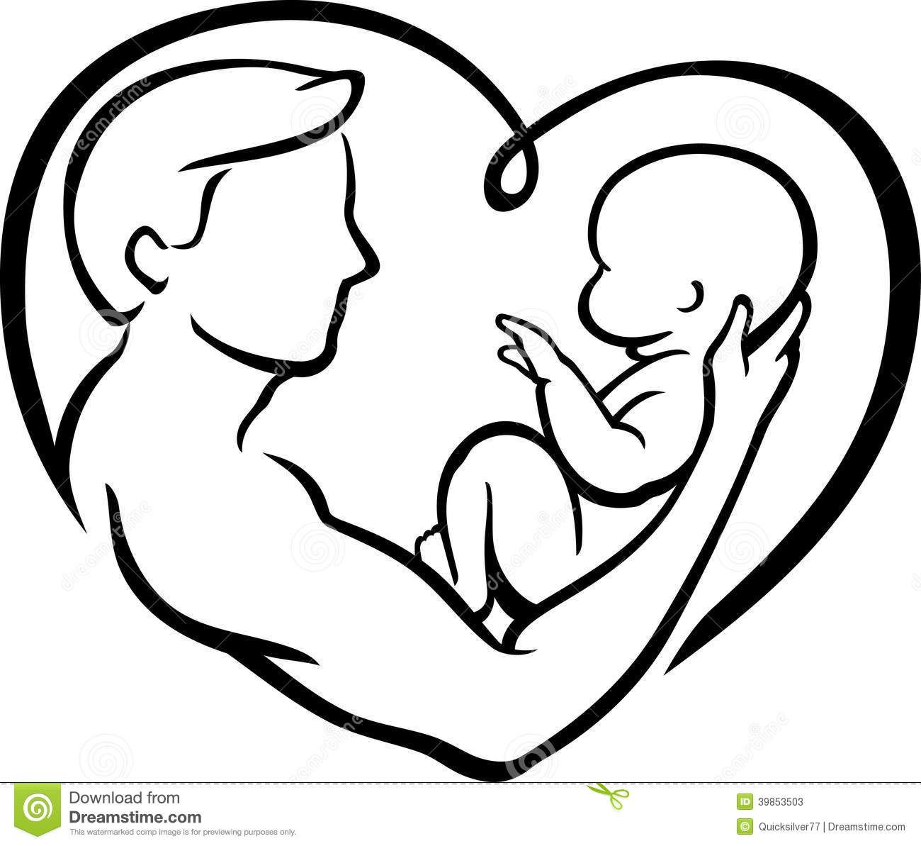 Outline Father Offspring Stock Photos Images Amp Pictures