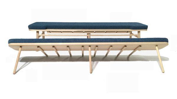 A Classic Swedish Kitchen Sofa Gets a Modern Update Photo