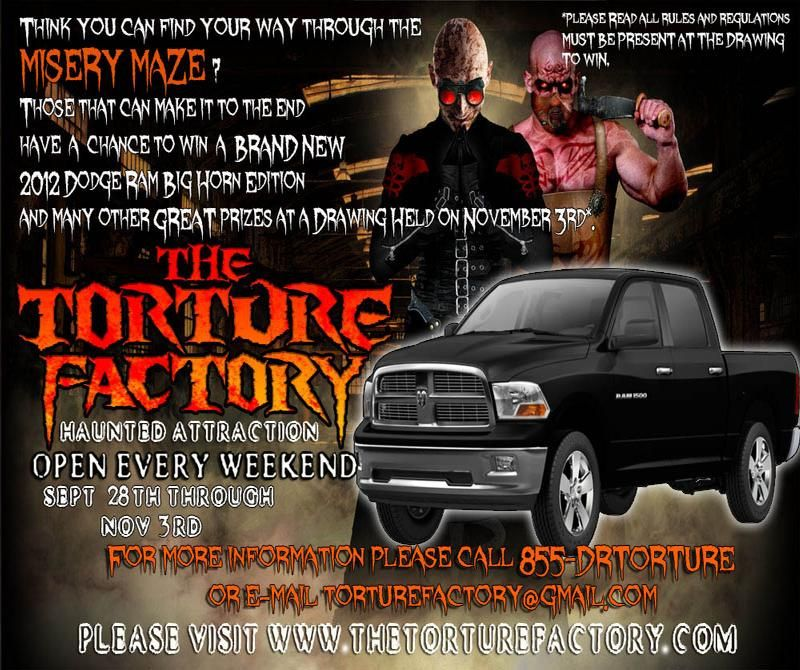 haunted attractions in knoxville tn | Haunted House in Hohenwald, Tennessee The Torture Factory