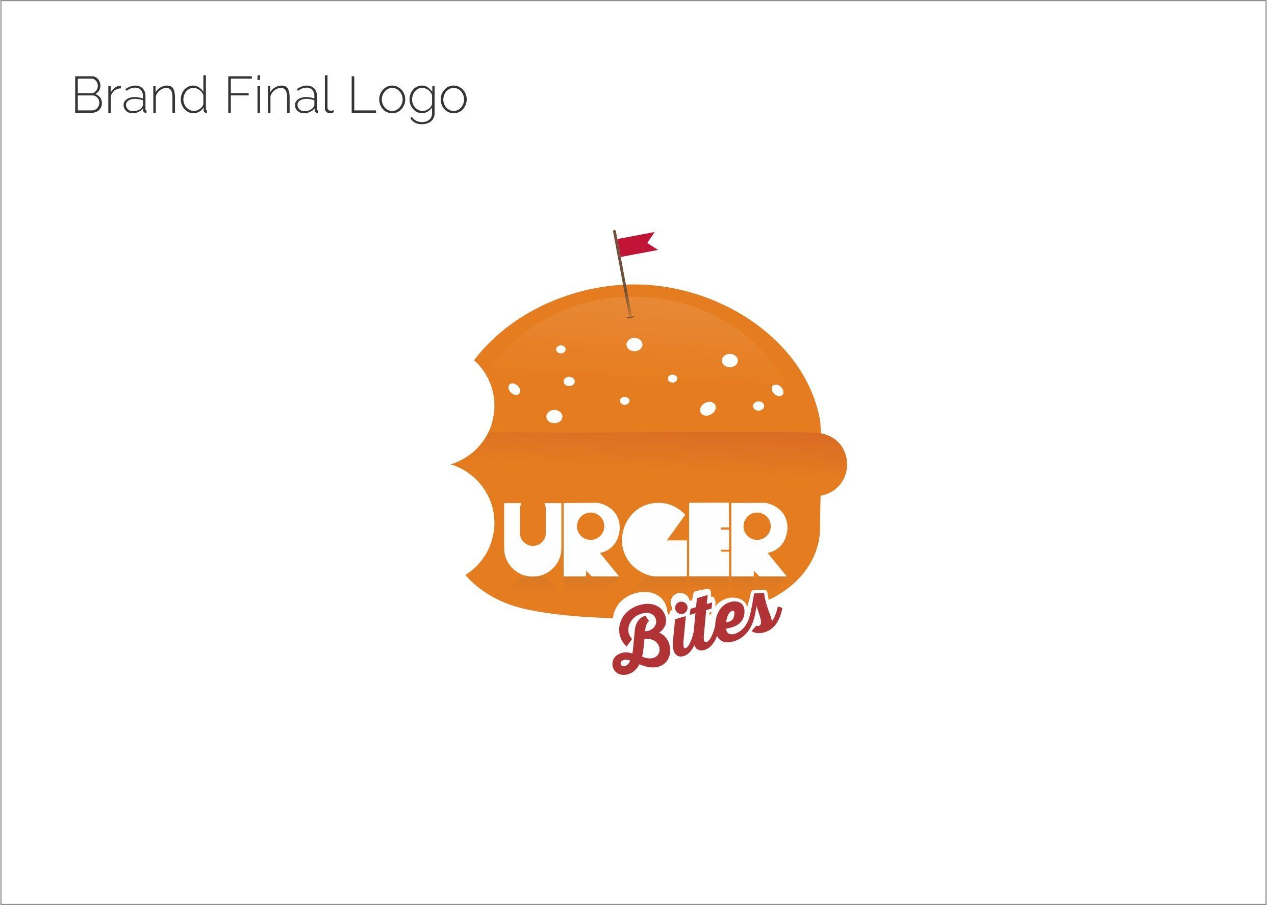 Logo Design For Burger Bites A Burger Delivery Unit Burger Bites