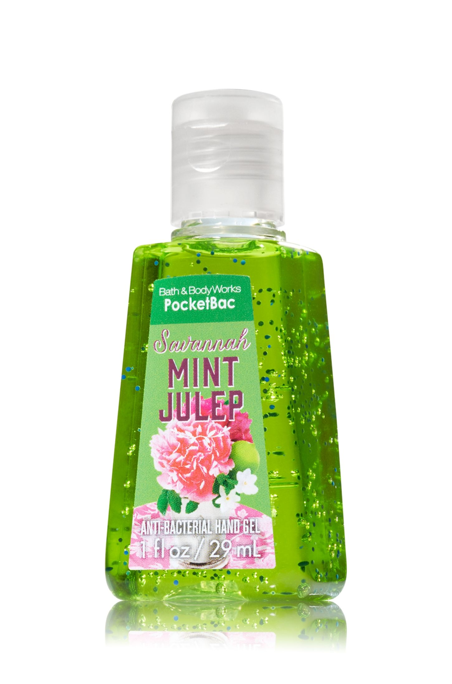 Savannah Mint Julep Pocketbac Sanitizing Hand Gel Soap Sanitizer
