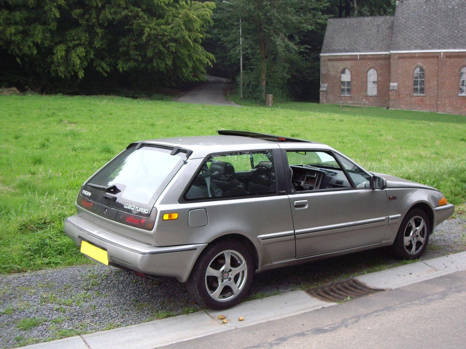 1991 Volvo 480 Turbo Autos Schwedisch