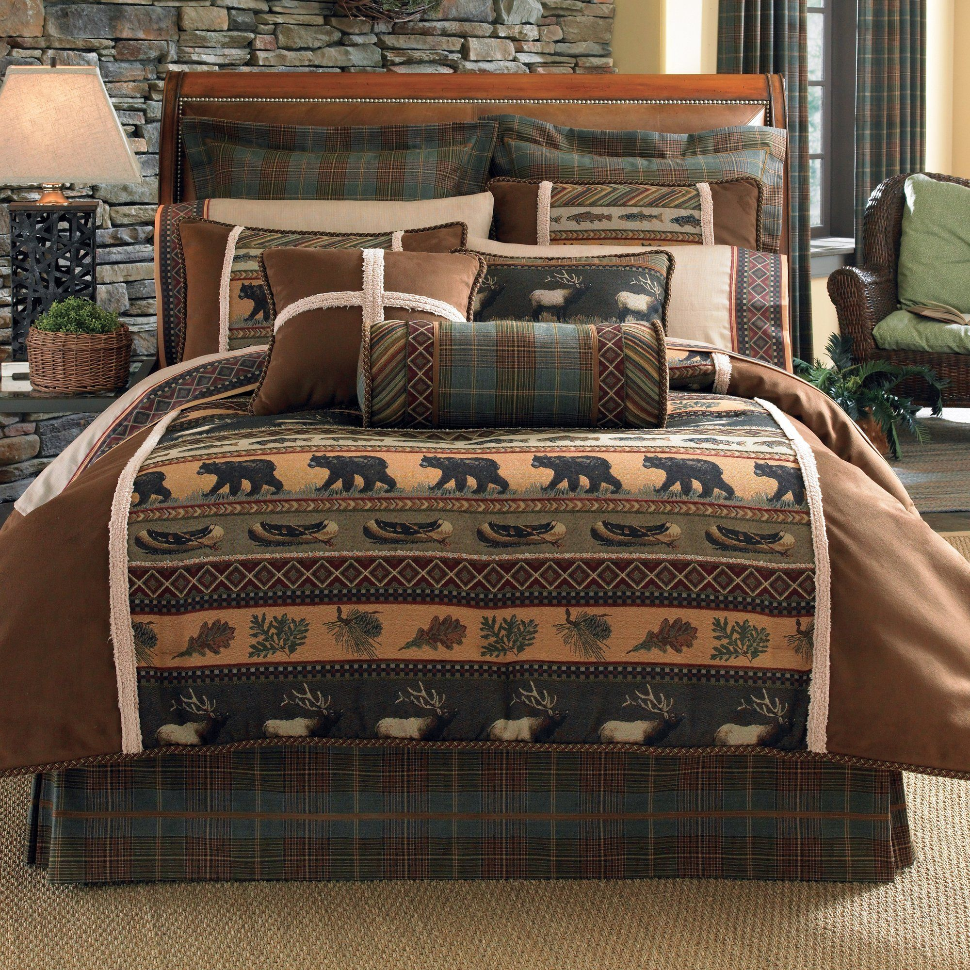 Caribou 4 Piece Comforter Set Comforter sets, Bedding