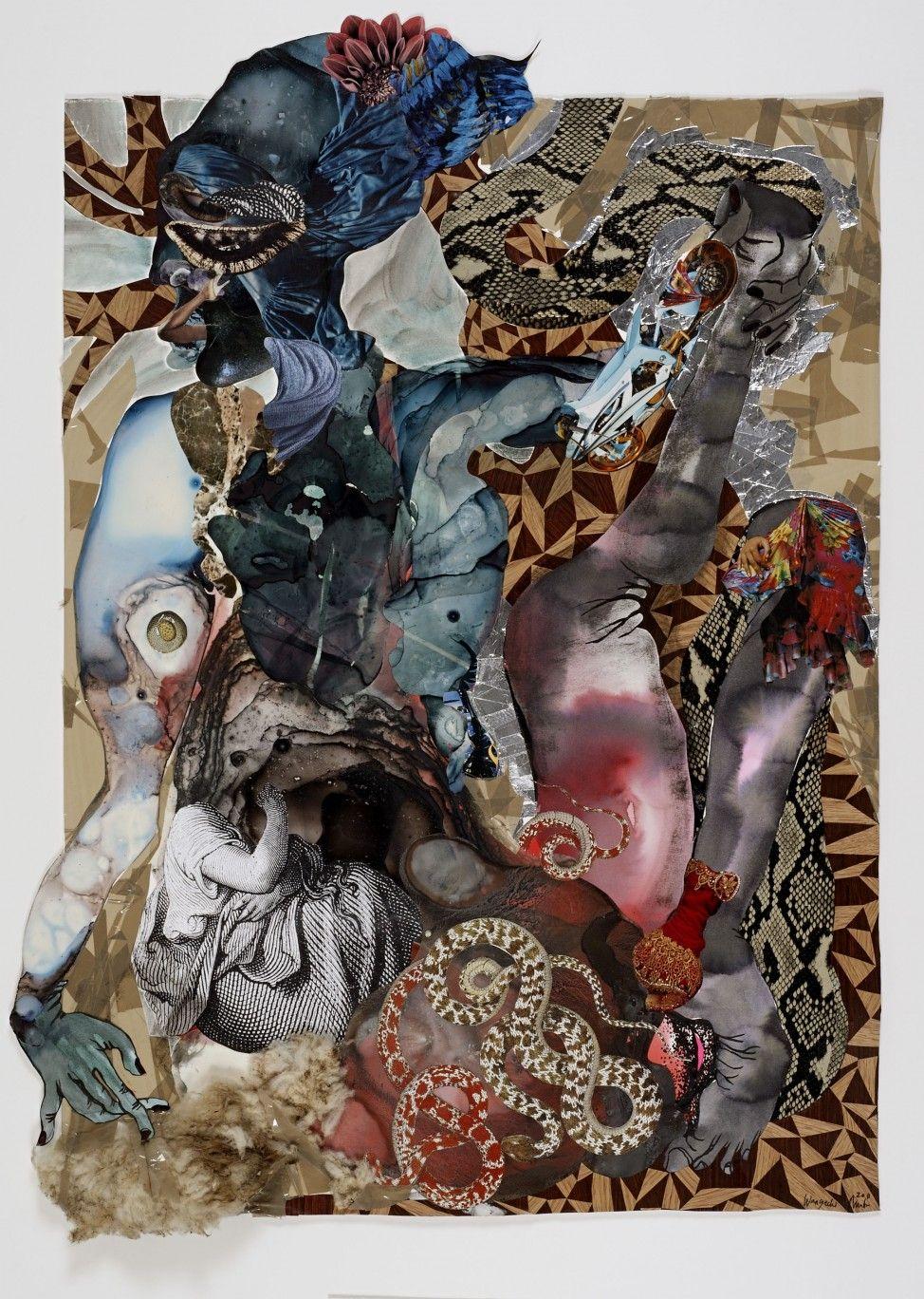 Wangechi Mutu Mother Of Snake Dreams 2011 Art