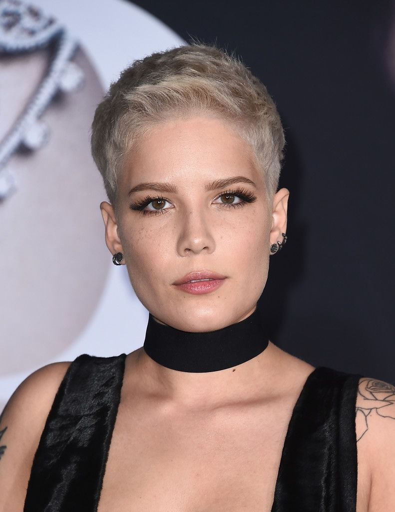 halsey boy cut | beauty | short hair styles, short