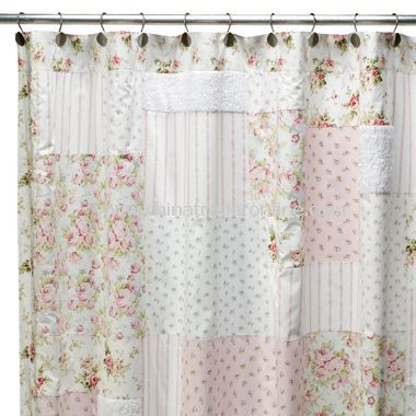 Promotional Campbell Fabric Shower Curtain Campbell Fabric