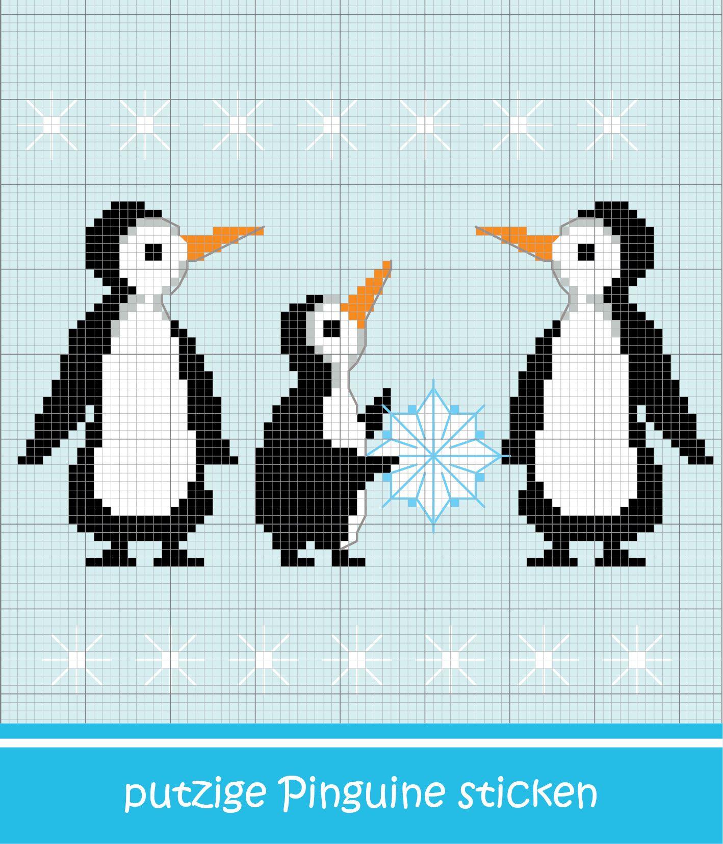 Atemberaubend Pinguin Handwerk Vorlage Bilder ...