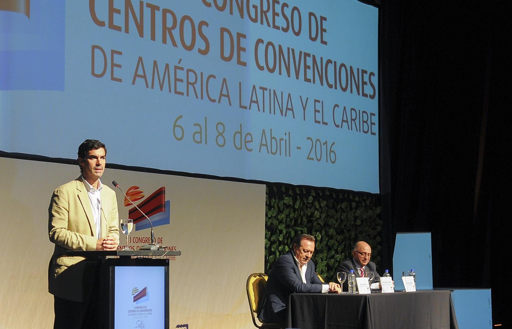 Juan Manuel Urtubey presidió el acto de cierre del primer Congreso de Centros Convenciones de América Latina y El Caribe, que se desarrolló en Salta.