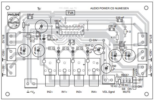 TDA8947J аудио усилитель 29W - www.amplifiercircuit.info ...